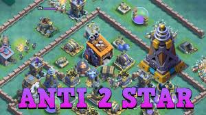 coc layout builder th8 best builder hall 8 base layout w replay bh8 anti 2 star base