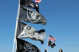 Raiders American Flag Raiders Fans Have Mixed Predictions For The Team U0027s First Season