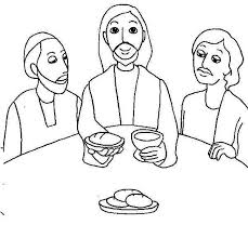 Bread Clipart Last Supper Pencil And In Color Bread Clipart Last Last Supper Coloring Page