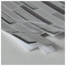self adhesive wall tiles peel and stick backsplash 10 pcs 9 5 sq ft