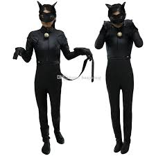 Kids Cat Halloween Costume Kids Miraculous Ladybug Cat Noir Cosplay Costume Mask Ladybug