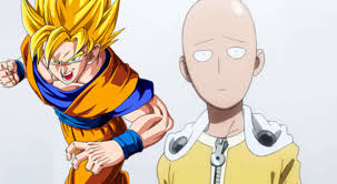 one punch man one punch man illustrator on who u0027d win between saitama and goku