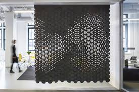 Link By Gensler And FilzFelt Brings Color And Texture To Screens - Wall covering designs
