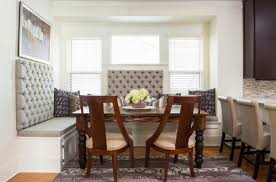 Dining Room Table With Sofa Seating Dining Room Captivating Back Chairs Which Has Colorful Stripes