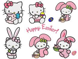 kitty easter wallpaper kitty cute easter bunny