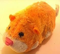amazon zhu zhu pets nugget orange u0026 white hamster kids toy
