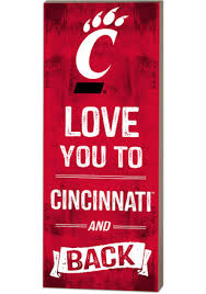 university of cincinnati posters bearcats rugs cincinnati signs