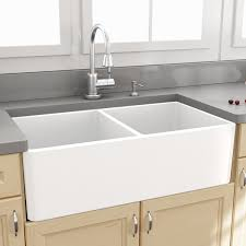 Kohler Apron Front Kitchen Sink Kitchen Makeovers 2 Bowl Farmhouse Sink Kohler Farmhouse Kitchen
