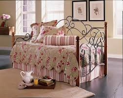 loretta wood and metal daybed home furnishing