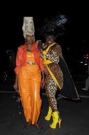 nyc halloween party danielle brooks heidi klum 17th annual halloween party in nyc