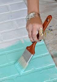 How To Paint A Faux Brick Wall - diy faux brick wall fake brick brick accent walls and command