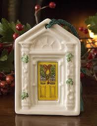 belleek christmas ornaments pg b