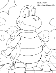 dry bowser coloring pages mario car coloring pages with dry