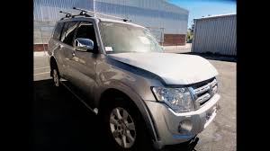 wrecking u2013 2012 mitsubishi pajero u2013 automatic 4wd 2887c youtube