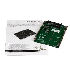 amazon com startech m 2 ngff ssd to 2 5in sata adapter converter