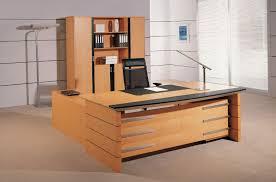 Dark Wood Office Desk Office Tables Design Table Ideas Dark Brown Wooden U Shape Office