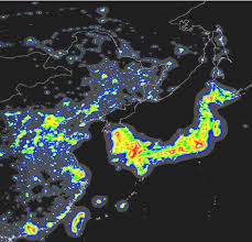 Light Polution Map The World Atlas Of The Artificial Night Sky Brightness