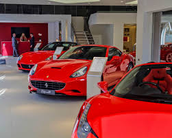 ferrari dealership showroom meridien modena wins