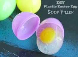 Diy Plastic Easter Egg Decorations by Diy Plastic Easter Egg Goop Filler