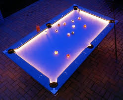 billiard lights for sale outdoor pool table features built in lighting for nighttime play