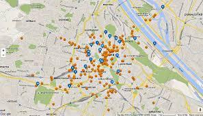 map of vienna map of vienna austria vienna city map of landmarks transport