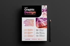design flyer layout graphic designer poster template 4 flyer templates creative market