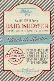 vintage airplane baby shower airplane baby shower invitations party xyz