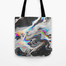 holographic bags holographic tote bags society6