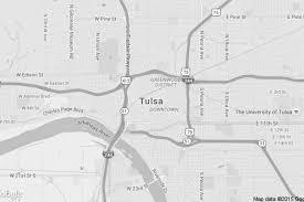 tulsa airport map home