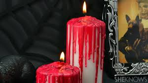 Candles Home Decor Diy Bloody Candles Make A Gory Fun Halloween Prop