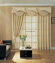 Swag Curtains For Living Room by Curtains With Valance For Living Room
