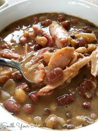 south your 15 bean turkey soup