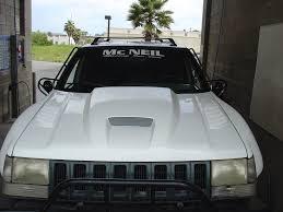 jeep grand cherokee prerunner 93 98 jeep grand cherokee zj off road fiberglass hood u2013 mcneil