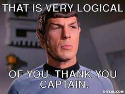Meme Comment Photos - spock meme generator that is very logical of you thank you captain