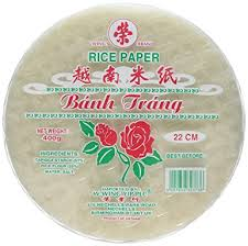 where to buy rice paper wraps rice paper roll wrappers 22cm 400g by banh trang
