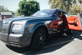 rolls royce blue interior rapper tyga splurges on a rolls royce wraith