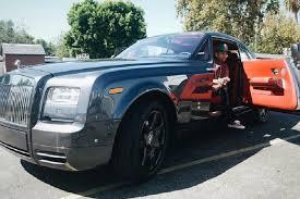 rolls royce blue interior rapper tyga splurges on a rolls royce wraith