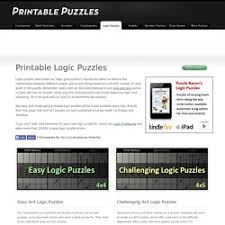 Printable Logic Puzzles Logic Puzzles Pearltrees