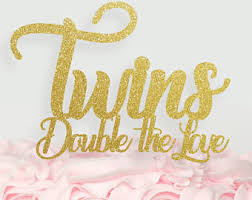 twins cake topper oh babies cake topper twins baby shower