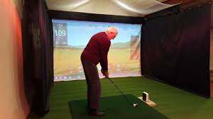 Home Golf Simulator by Indoor Home Garage Golf Simulator In Windermere Golf Academy