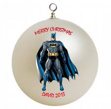 batman personalized ornament by giftsfromhyla on zibbet