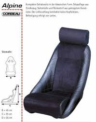 siege corbeau seat corbeau with adjustable headrest alpine a110 a310 4 cyl
