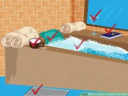 How To Scrub Bathtub 4 Ways To Clean Yourself In The Bath Wikihow