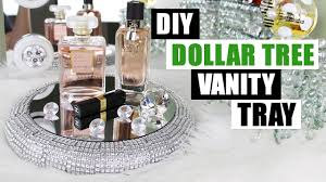 Home Decor Vanity Diy Dollar Tree Vanity Tray Dollar Store Diy Bling Perfume Tray