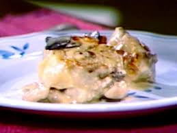 cuisine cepes fricasee de poulet et cepes recipe food