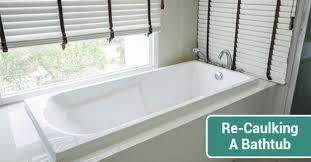 Re Caulk Bathtub Step By Step Process For Re Caulking A Bathtub Advanced Plumbing
