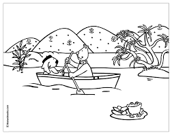 small boat canoe 16 transportation u2013 printable coloring pages