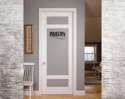 stickers for glass doors pantry decals etsy