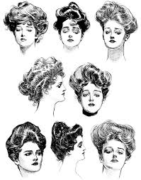 hairstyles from 1900 s beauty bloomers retro hairdos