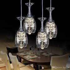 Wine Glass Pendant Light Modern Wine Glasses Bar Chandelier Ceiling Light Pendant
